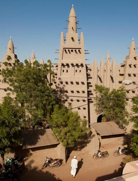 Malian mosque
