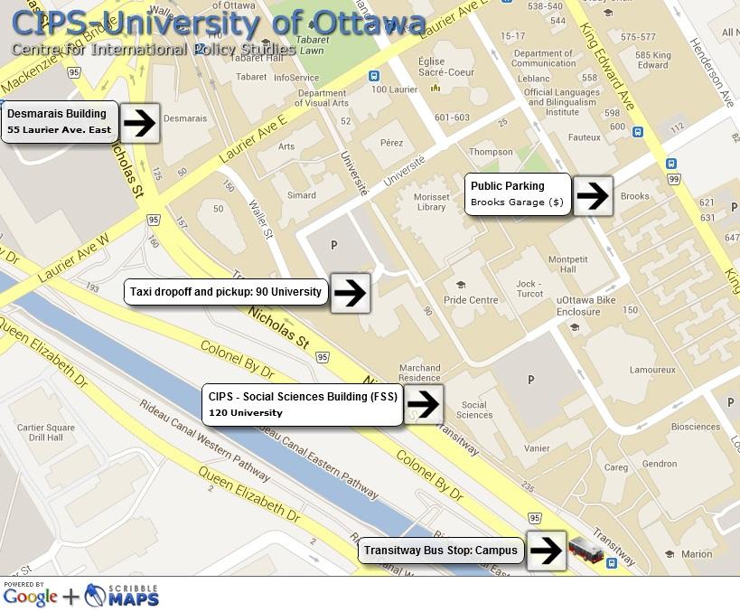 CIPS campus map