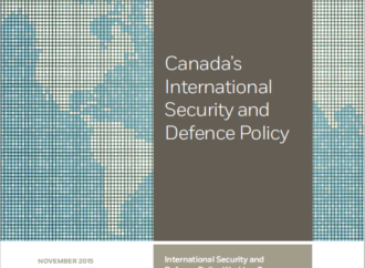 Working Group Report on Canada's International Security and National Defence Policy