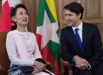 La politique étrangère Trudeau à mi-mandat : état de l'opinion publique canadienne