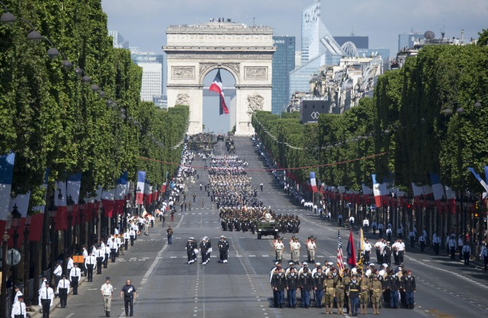 """A parade like the one in France"": A Reflection on Militarism Today"