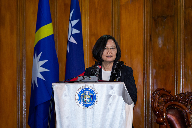 "Taiwan Hopes for ""Oceans of Democracy"""