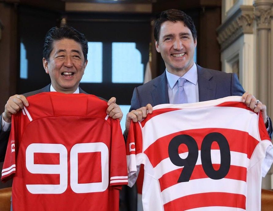 Dawn of a New Era: Japanese Prime Minister Abe's Visit to Ottawa