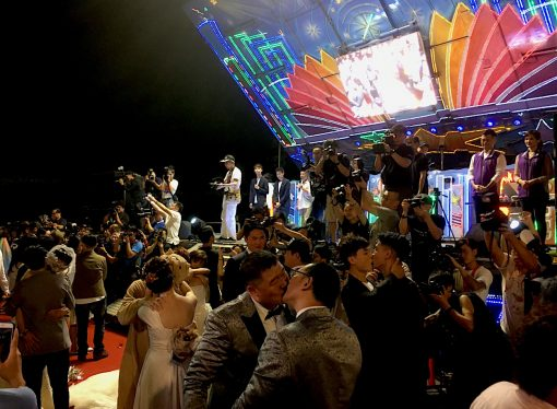 Mass Wedding Banquet to Celebrate Same-Sex Marriage in Taiwan