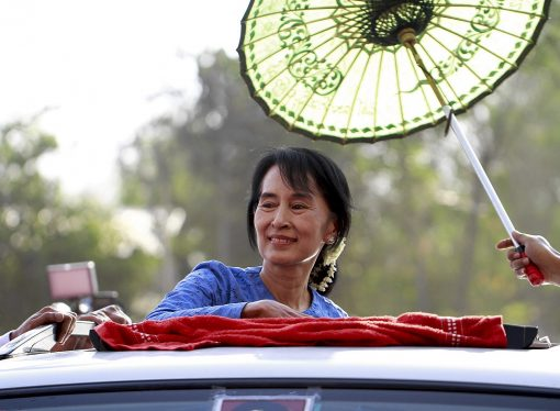 The coup turns Myanmar's fallen angel back into a freedom fighter